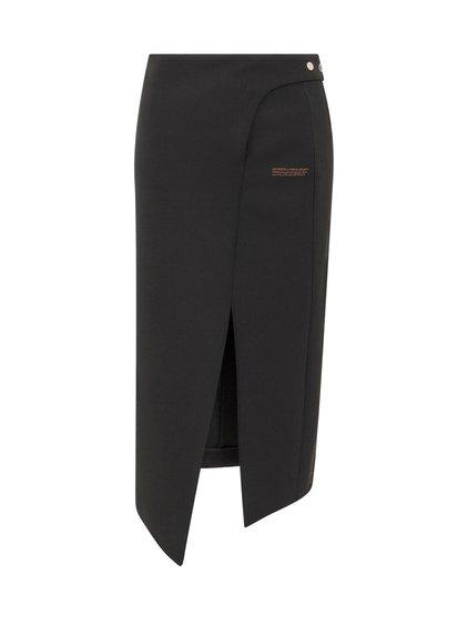 Light Wool Midi Skirt image