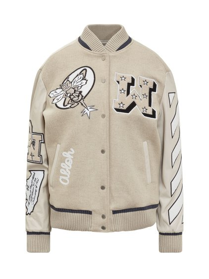 College Jacket with Patch image