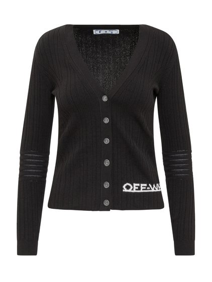 Ribbed Sweater with Logo image