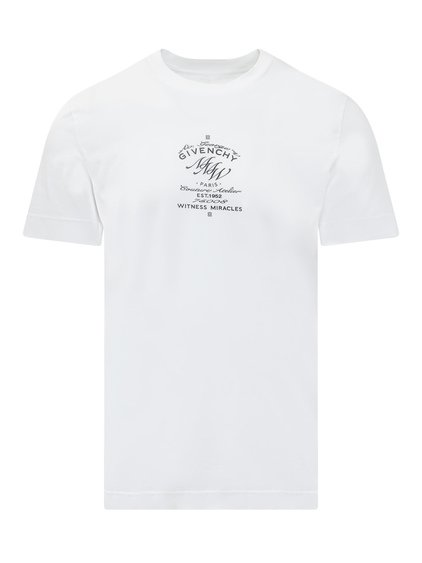 T-Shirt with Lettering image