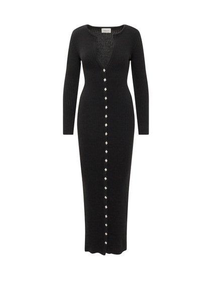 Long Ribbed Dress image