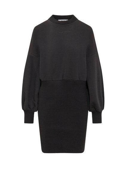 Midi Fleece Dress image