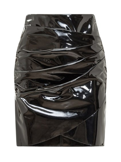 Patent Leather Skirt image