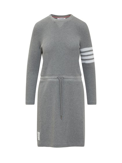 Midi Dress with Long Sleeves image