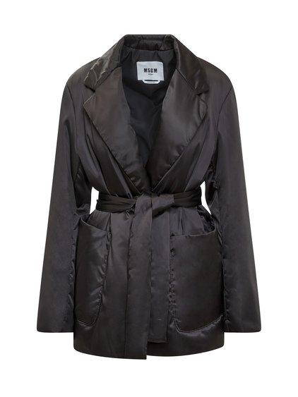 Jacket with Belt image