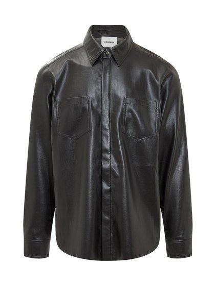 vegan Leather Shirt image