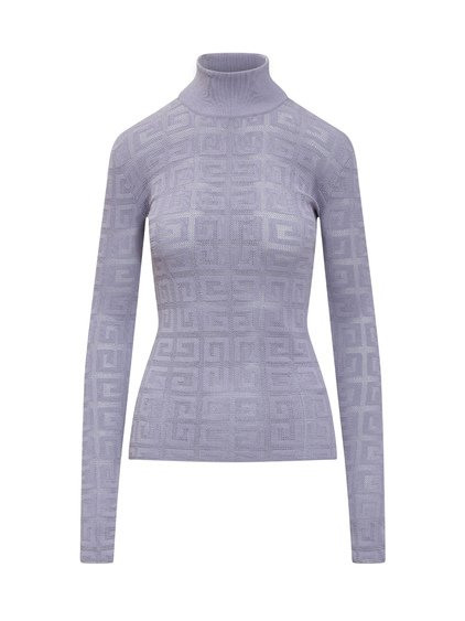 Lace Sweater with Logo image