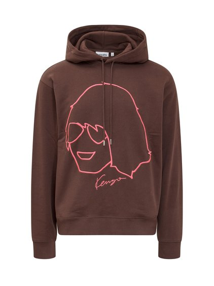 Sweatshirt with Embroidered Print image