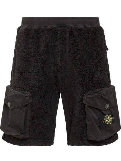 Fleece Shorts with Logo image