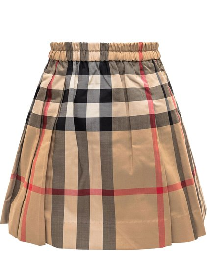 Hilde Skirt with Check Pattern image