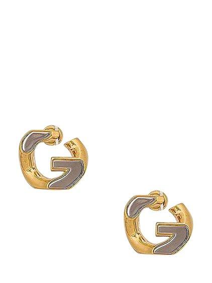 G Chain Medium Earrings image