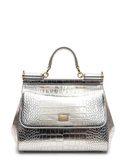 Sicily Handbags Crocodile Style image
