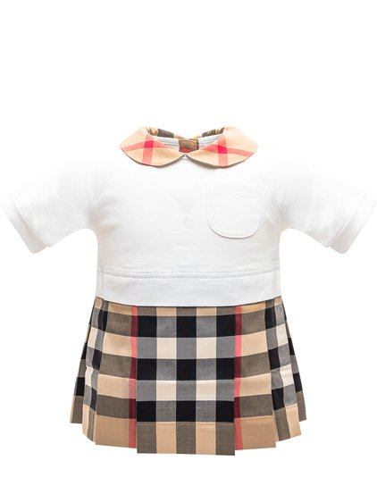 Dress with Tartan Pattern image