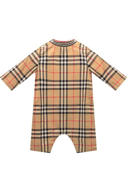 Bodysuit with Check Pattern image