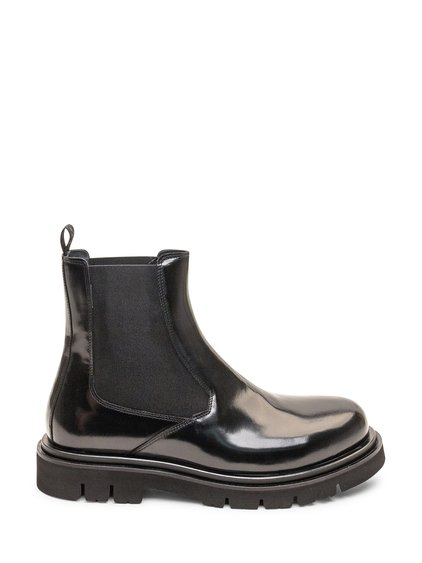 Glossy Ankle Boots image