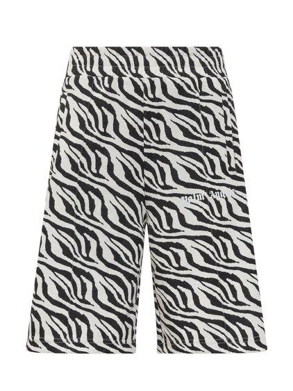 Shorts with Zebra Print image