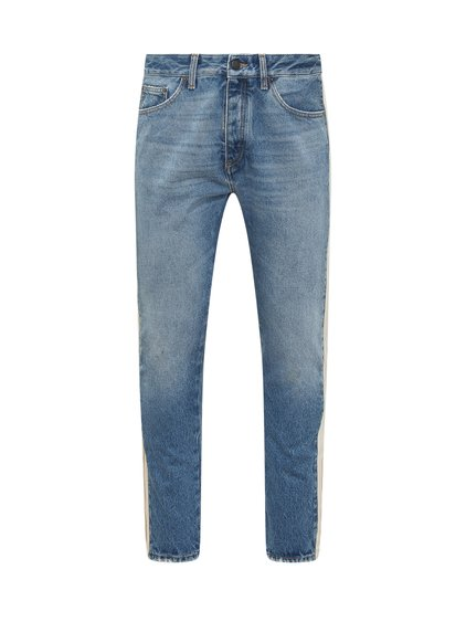 Jeans with Logo Patch image