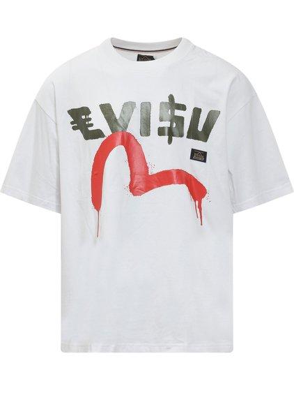Evisu x Sfera Ebbasta T-shirt with Print image