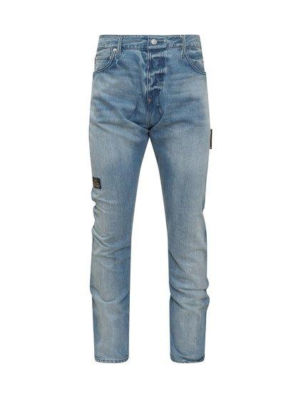 Evisu x Sfera Ebbasta Jeans with Print image
