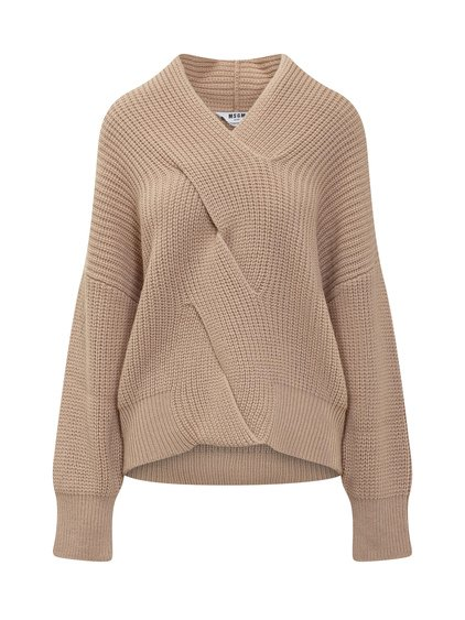 Sweater with Braid image