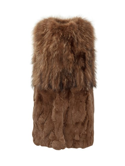 Long Vest in Fur image