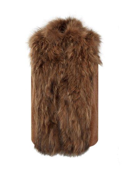 Short Vest in Fur image