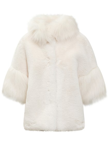 Short Jacket in Eco Fur image