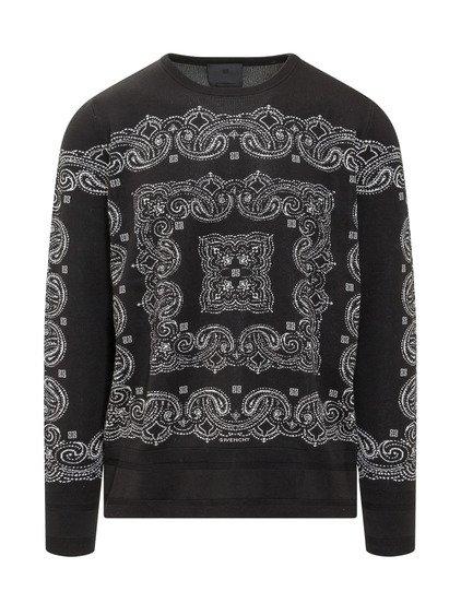 Jacquard Crewneck Sweater image