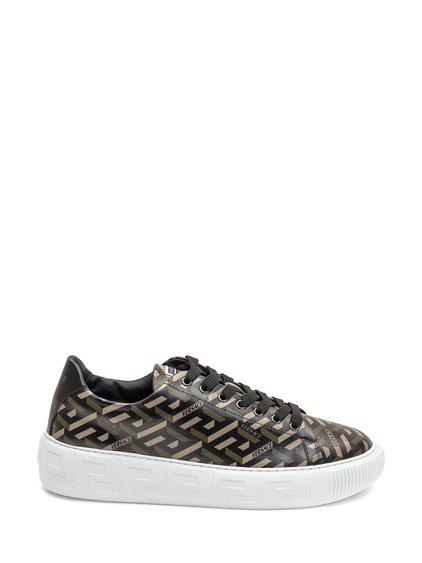 Sneakers with La Greca Print image
